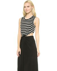 A.L.C. Alejandro Dress - Blackwhite - Lyst