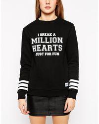 A Question Of Hearts Long Sleeve Sweatshirt - Lyst