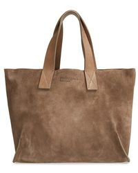 Pedro Garcia - 'city - East West' Suede Tote - Lyst