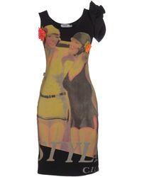 Moschino Jeans - Short Dress - Lyst