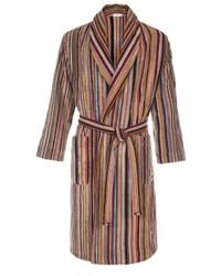 Paul Smith   Men's Signature Striped Towelling Dressing Gown   Lyst