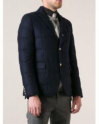 Moncler Gamme Bleu Rouillac Padded Jacket - Lyst