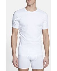 Naked 'Essential' Stretch Cotton Crewneck T-Shirt, (2-Pack) - Lyst