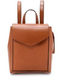 Loeffler Randall - Mini Backpack - Cuoio - Lyst
