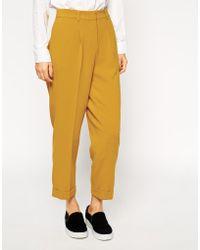 Asos Peg Suit Trouser - Lyst