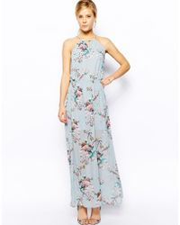 Oasis Floral Print Maxi Dress - Lyst