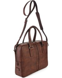 Tod's - Grained Leather Briefcase - Lyst