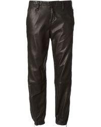 Rag & Bone Zipped Ankles Pajama Trousers - Lyst