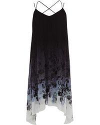 Coast Apple Jacquard Dress blue - Lyst