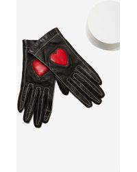 Nasty Gal Vintage Moschino Leather Gloves - Lyst