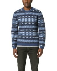 Marc By Marc Jacobs - Fair Isle Sweater - Lyst