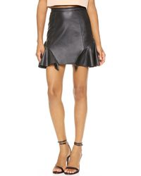 Madison Marcus Unison Skirt Black - Lyst