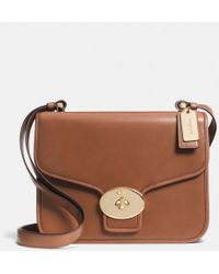 Coach Page Shoulder Bag in Leather - Lyst