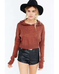 Pins And Needles - Barely There Cropped Sweater - Lyst