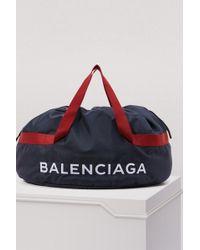 Balenciaga - Embroidered Canvas Bag - Lyst