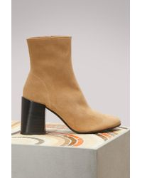 Acne Studios - Saul Reverse Boots - Lyst