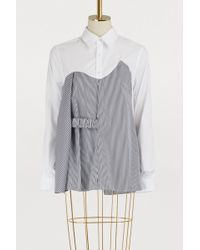 AALTO - Cotton Striped Shirt - Lyst
