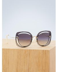 Miu Miu - Scenique Evolution Sunglasses - Lyst