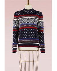 MSGM | Jacquard Knit Jumper | Lyst