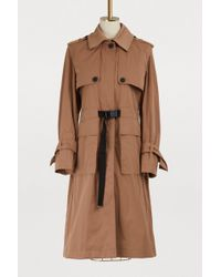 KENZO - Cotton Trench - Lyst