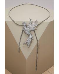 Lanvin - Swan Collar - Lyst