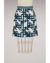 Carven - Straight Skirt - Lyst
