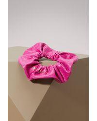 Balenciaga - Leather Chouchou - Lyst