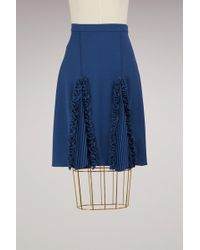 Marco De Vincenzo - Rouched Knee-lenght Skirt - Lyst