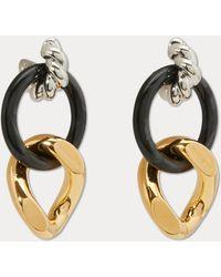 Balenciaga - Lopp And Hoop Earrings - Lyst