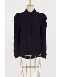 See By Chloé - Bubble Sleeve Shirt - Lyst
