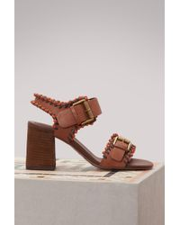 See By Chloé - Romy Heeled Sandals - Lyst
