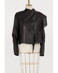 Isabel Marant - Nestor Leather Jacket - Lyst
