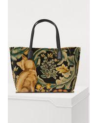 Loewe - Fox Large Shopper Bah - Lyst