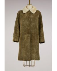 Sofie D'Hoore - Velvet And Fur Misty Coat - Lyst