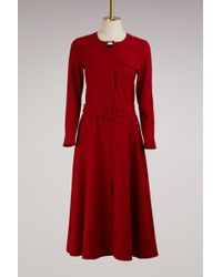 JOUR/NÉ - Virgin Wool Long Dress - Lyst
