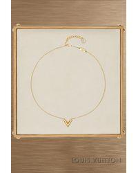 Louis Vuitton - Essential V Necklace - Lyst