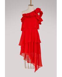 Givenchy - Asymmetric Short Dress - Lyst