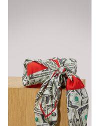 Balenciaga - Dollar Scarf - Lyst