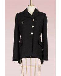 Proenza Schouler - Tweed Asymmetrical Jacket - Lyst