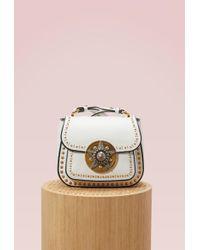 Miu Miu - Dahlia Star Leather Crossbody Bag - Lyst