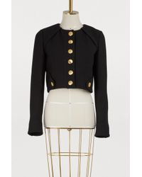Proenza Schouler - Cropped Tailored Jacket - Lyst