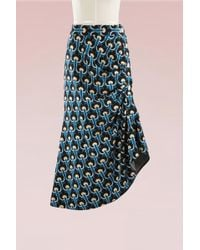 Marni | Asymmetric Knitted Midi Skirt | Lyst