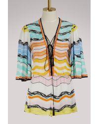 Missoni - Striped Jumpsuit - Lyst