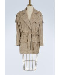 See By Chloé - Cotton Coat - Lyst