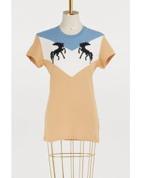 Off-White c/o Virgil Abloh - Twisting Horses T-shirt - Lyst