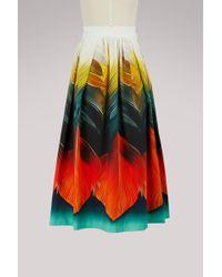 Mary Katrantzou - Bowles Printed Skirt - Lyst