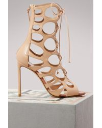 Francesco Russo - Cut Laced Boots - Lyst