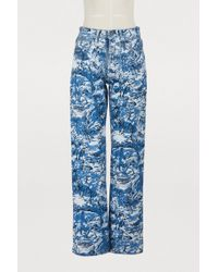 Off-White c/o Virgil Abloh - Tapestry Straight Jeans - Lyst