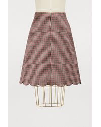 RED Valentino - Jupe Courte - Lyst