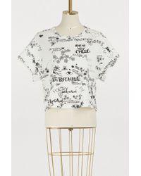 See By Chloé - Sbc Tag T-shirt - Lyst